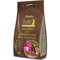 Fitmin Purity Semimoist RIce Rabbit and Lamb 4kg