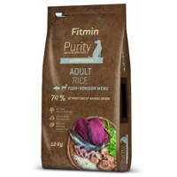 Fitmin Purity Rice Adult Fish and Venison 12kg